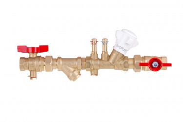Sestava s filtrem a vyvažovacím ventilem