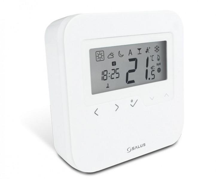 Bezdrátový programovatelný termostat.