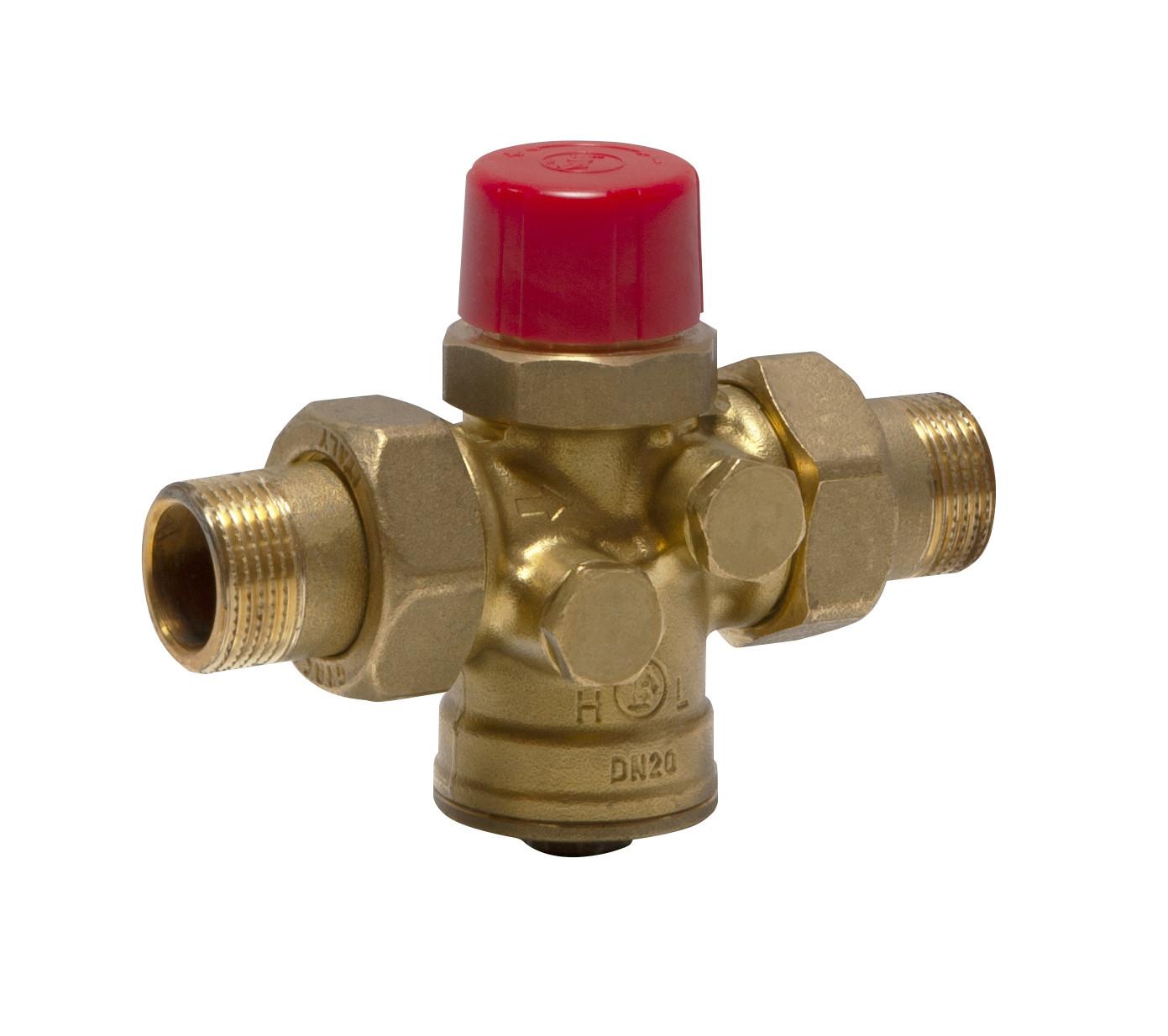 tlakově nezávislý vyvažovací a regulační ventil