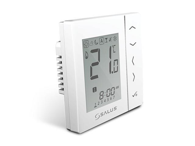 Bezdrátový digitální pokojový termostat 4v1 - bílý