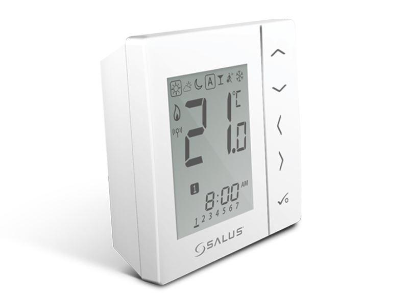Bezdrátový digitální pokojový termostat 4v1 – bílý