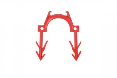 W983Y642CZ - červená spona 40 mm vysoká, určená pro izolace o minimálně tloušťce 25 mm